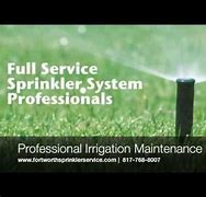 fort worth sprinkler repair